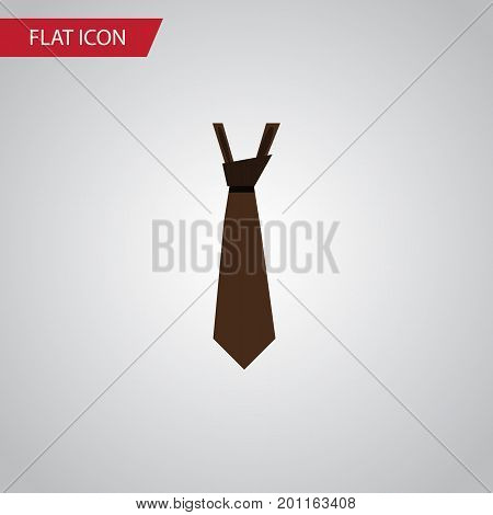 Tie Vector Element Can Be Used For Tie, Style, Formal Design Concept.  Isolated Style Flat Icon.