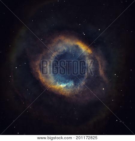 Helix Nebula Is Nebulae Located In The Constellation Aquarius.