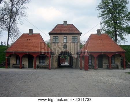 Entrance To Kastellet In Copenhagen, Denmark