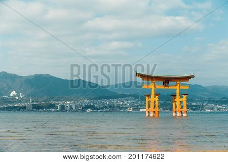 Itsukushima in Japan