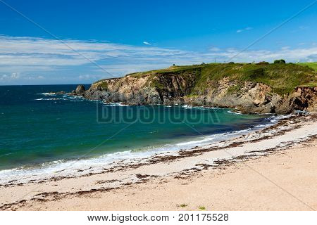 Leas Foot Sands Beach Thurlestone Devon England