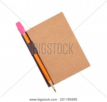 Closed Pad With Pencil In Holder
