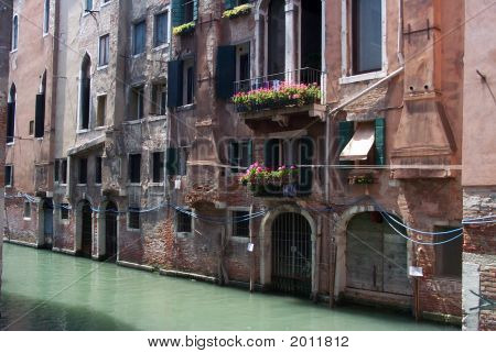 The House Of Marco Polo In Venice