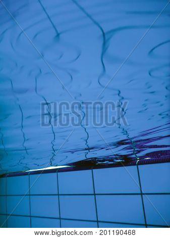 swimming pool underwater in pool. Underwater. Underwater.