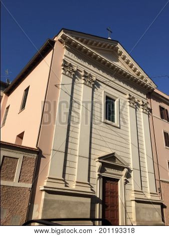 Ancient Roman Catholic church in Rome, Italy