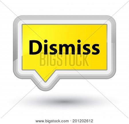 Dismiss Prime Yellow Banner Button