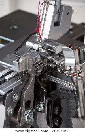 thread, needles of sewing machine