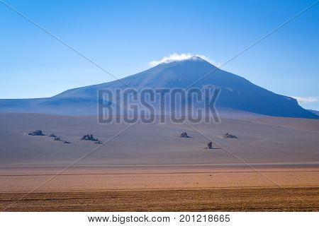 Dali Desert In Sud Lipez Reserva, Bolivia