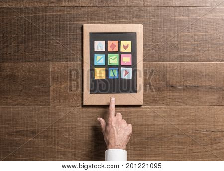 Eco-friendly Cardboard Tablet