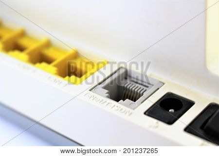 An image of a internet Connection - router