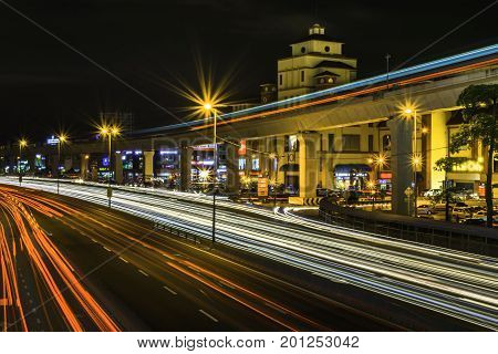This is a night shoot of a popular shopping mall in PuchongMalaysia