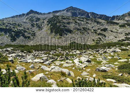 Landscape with Banderishki Chukar Peak, Pirin Mountain, Bulgaria