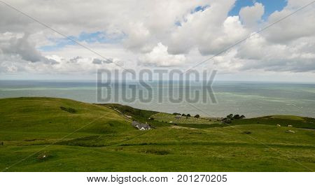 Great Orme, Wales, The North Wales peninsula of the Great Orme headland, one of the best places in the whole united kingdom.