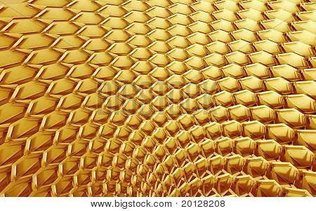 Golden Machine Parts