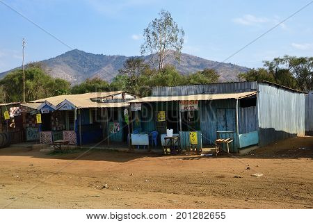 The Slums Hotel In Kenya. Africa