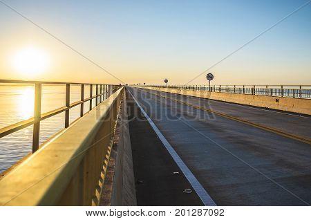 Highway Br-267 Over The Helio Serejo Bridge