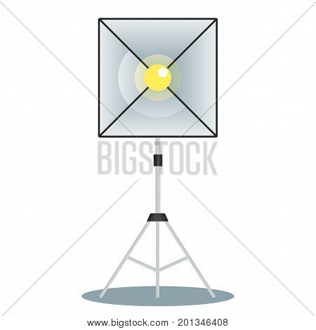 Softbox Front View