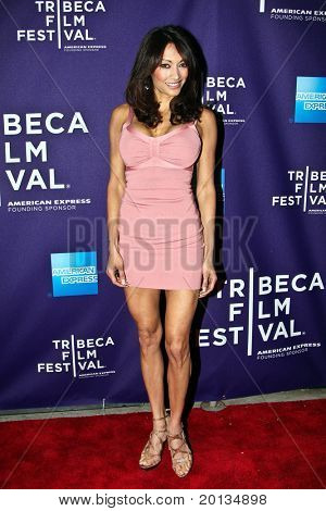 """NEW YORK - APRIL 24: Maria Bierk attends the """"RUSH: Beyond the Lighted Stage"""" premiere during the 2010 TriBeCa Film Festival at the School of Visual Arts Theater on April 24, 2010 in New York City."""