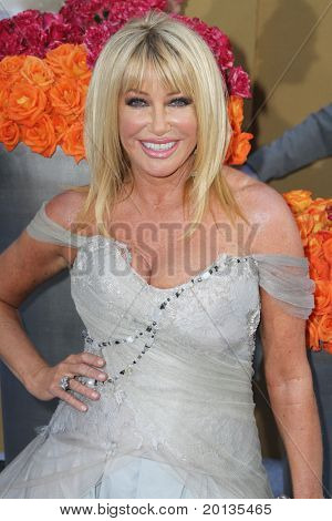 """NEW YORK - MAY 24: Actress Suzanne Sommers attends the premiere of """"Sex and the City 2"""" at Radio City Music Hall on May 24, 2010 in New York City."""