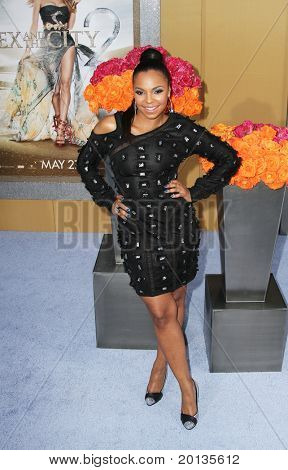 """NEW YORK - MAY 24: Singer Ashanti attends the premiere of """"Sex and the City 2"""" at Radio City Music Hall on May 24, 2010 in New York City."""