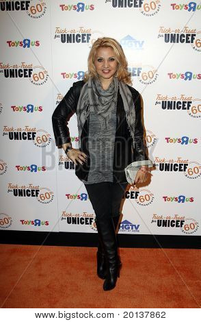 NEW YORK - OCTOBER 13: Singer Orfeh attends the 60th Anniversary of Trick-or-Treat for UNICEF at The Xchange on October 13, 2010 in New York City.