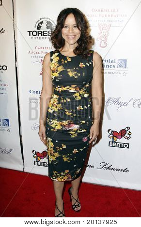 NEW YORK - OCTOBER 21: Actress Rosie Perez attends Angel Ball 2010,hosted by Gabrielle's Angel Foundation for Cancer Research at Cipriani's on October 21, 2010 in New York City.