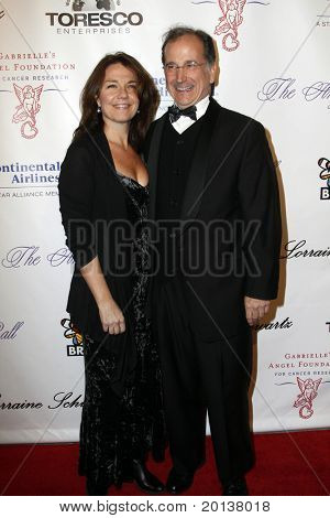 NEW YORK - OCTOBER 21: Christine Justice and Mark Linn-Baker attend Angel Ball 2010,hosted by Gabrielle's Angel Foundation for Cancer Research at Cipriani's on October 21, 2010 in New York City.