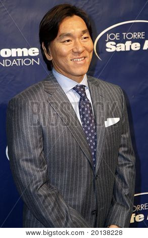 NEW YORK - NOV 11: Hideki Matsui attends the 8th Annual Joe Torre Safe at Home Foundation Gala at Pier Sixty at Chelsea Piers on November 11, 2010 in New York City.
