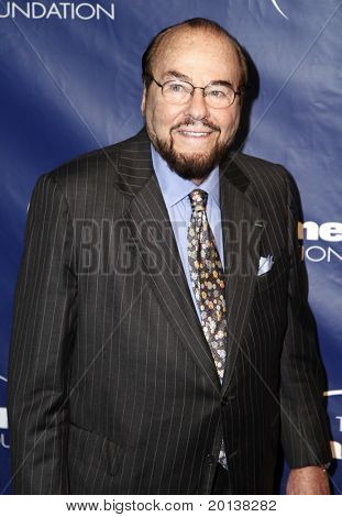 NEW YORK - NOVEMBER 11: James Lipton attends the 8th annual Joe Torre Safe at Home Foundation Gala at Pier 60 at Chelsea Piers on November 11, 2010 in New York City.