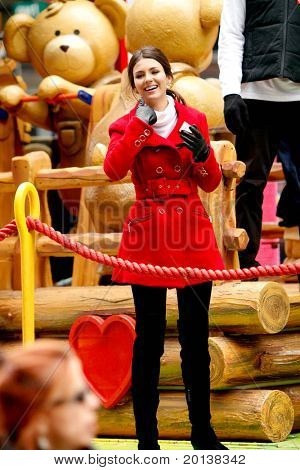 NEW YORK - NOVEMBER 25: Victoria Justice attends the 84th Macy's Thanksgiving Day Parade on November 25, 2010 in New York City.