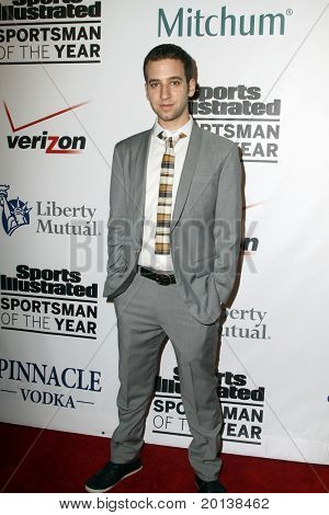 NEW YORK - NOVEMBER 30: DJ Equal attends the Sports Illustrated Sportsman of the Year Awards at the IAC Building on November 30, 2010 in New York City.