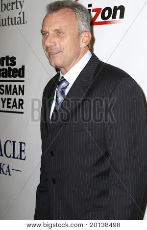 NEW YORK - NOVEMBER 30: Football quarterback Joe Montana attends the Sports Illustrated Sportsman of the Year Awards at the IAC Building on November 30, 2010 in New York City.