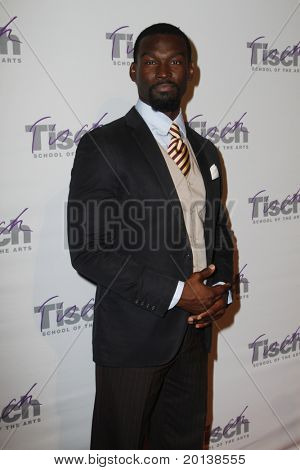 NEW YORK - DECEMBER 6: Actor Isaiah Johnson attends The Face of Tisch Gala at Frederick P. Rose Hall, home of Jazz at Lincoln Center on December 6, 2010 in New York City.