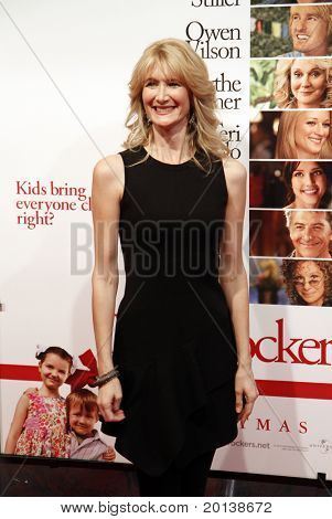 "NEW YORK - DECEMBER 15: Laura Dern attends the world premiere of ""Little Fockers"" at the Ziegfeld Theatre on December 15, 2010 in New York City."