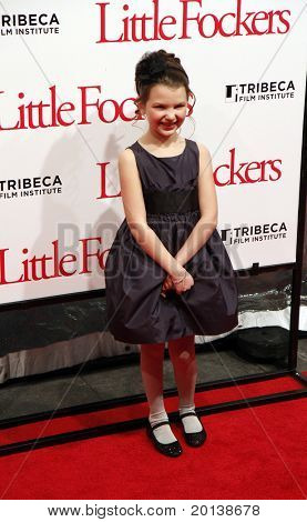 """NEW YORK - DECEMBER 15: Daisy Tahan attends the world premiere of """"Little Fockers"""" at the Ziegfeld Theatre on December 15, 2010 in New York City."""