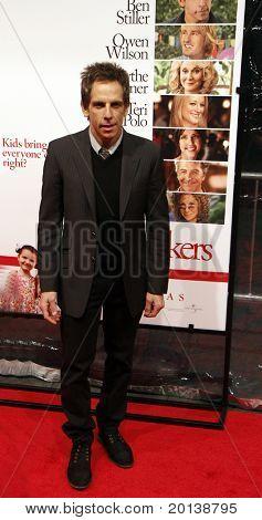 "NEW YORK - DECEMBER 15: Ben Stiller attends the world premiere of ""Little Fockers"" at the Ziegfeld on December 15, 2010 in New York City."
