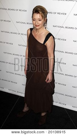 NEW YORK - JAN 11: Lesley Manville attends the 2011 National Board of Review of Motion Pictures Gala at Cipriani's on January 11, 2011 in New York City.