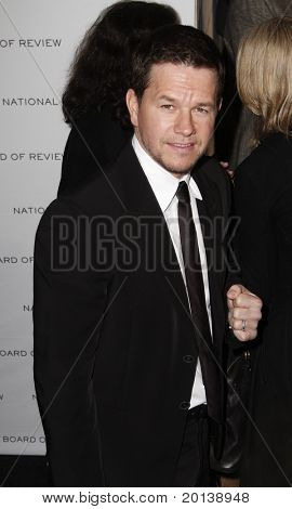 NEW YORK - JAN 11: Mark Wahlberg attends the 2011 National Board of Review of Motion Pictures Gala at Cipriani's on January 11, 2011 in New York City.