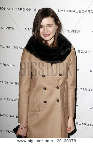 NEW YORK - JAN 11: Emily Mortimer attends the 2011 National Board of Review of Motion Pictures Gala at Cipriani's on January 11, 2011 in New York City.
