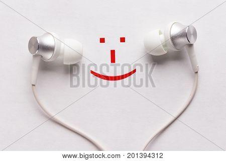 Happy Smile And Headphones