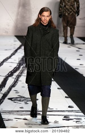 NEW YORK - FEBRUARY 12: Mercedes-Benz Fashion Week presents  G-Star RAW collections at Lincoln Center on February 12, 2011 in New York City.