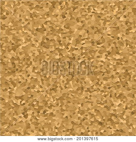 Cork board texture realistic vector seamless pattern, close up. Empty vintage corkbord background