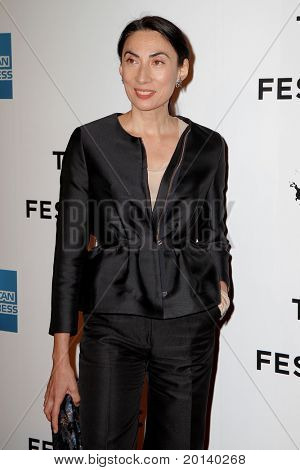 """NEW YORK - APRIL 20: Anh Duong attends the opening night premiere of """"The Union"""" at the 2011 TriBeCa Film Festival at North Cove at World Financial Center Plaza on April 20, 2011 in New York City."""