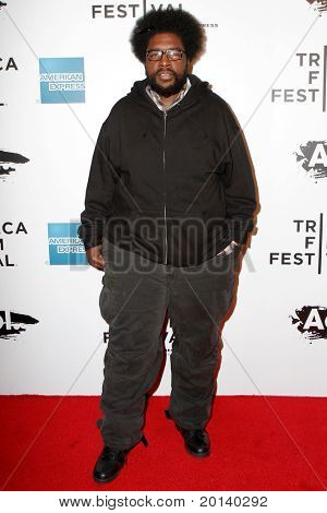 """NEW YORK - APRIL 20: Questlove of The Roots attends the opening night premiere of """"The Union"""" at the 2011 TriBeCa Film Festival at World Financial Center Plaza on April 20, 2011 in New York City."""