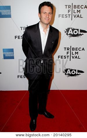 """NEW YORK - APRIL 20: JD Heyman attends the opening night premiere of """"The Union"""" at the 2011 TriBeCa Film Festival at North Cove at World Financial Center Plaza on April 20, 2011 in New York City."""