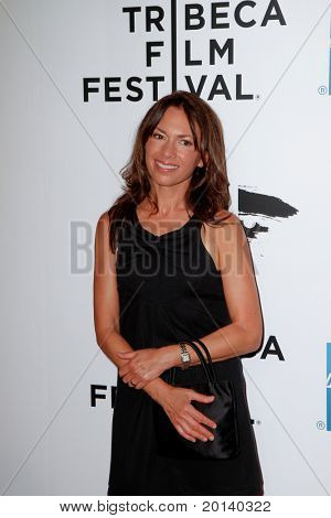 """NEW YORK - APRIL 20: Susannah Hoffs attends the opening night premiere of """"The Union"""" at the 2011 TriBeCa Film Festival at World Financial Center Plaza on April 20, 2011 in New York City."""