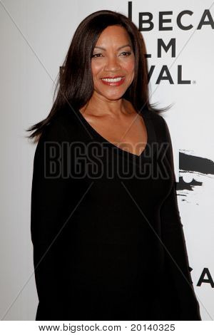 "NEW YORK - APRIL 20: Grace Hightower attends the opening night premiere of ""The Union"" at the 2011 TriBeCa Film Festival at World Financial Center Plaza on April 20, 2011 in New York City."