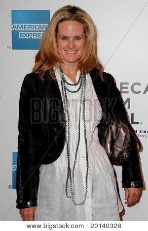 """NEW YORK - APRIL 20: Ashley McDermott attends the opening night premiere of """"The Union"""" at the 2011 TriBeCa Film Festival at World Financial Center Plaza on April 20, 2011 in New York City."""