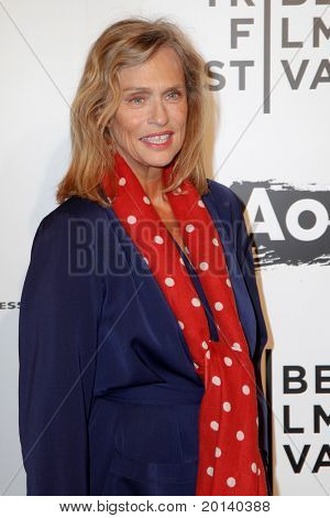 """NEW YORK - APRIL 20: Lauren Hutton attends the opening night premiere of """"The Union"""" at 2011 TriBeCa Film Festival at North Cove at World Financial Center Plaza on  April 20, 2011 in New York City."""