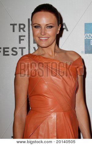 "NEW YORK - APRIL 21: Malin Ackerman attends the 2011 TriBeCa Film Festival premiere of ""The Bang Bang Club"" at the BMCC TriBeCa PAC on April 21, 2011 in New York City."
